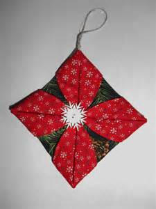 ornament handmade star ornament folded by loonmtembroidncrafts