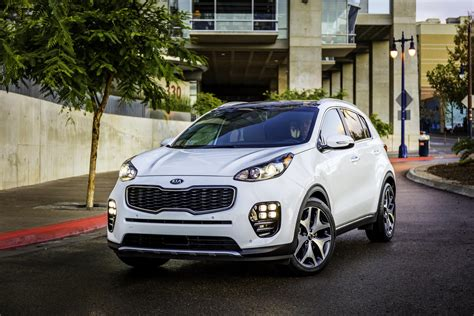 kia sportage 2017 kia sportage makes north american debut autoevolution