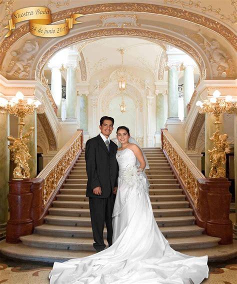 descargar caña template psd plantillas para photoshop escalinatas boda 001