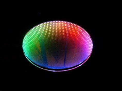 infinity mirror  table  casual tools  steps
