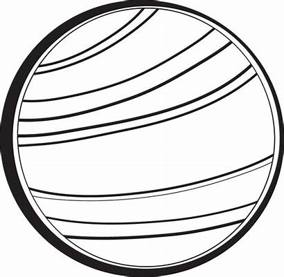 Planet Venus Clipart Clip Planets Outline Mars