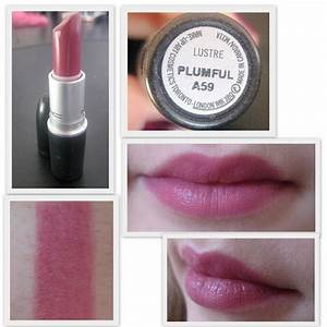 Rouge Repertoire: MAC Plumful [Swatch] | clothes + hair ...