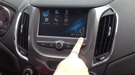 chevy cruze radio infotainment demonstration