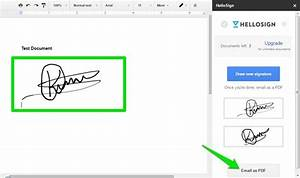 2 simple ways to add your signature in google docs With sign documents email