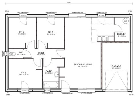 plan de cuisine cuisine enchanteur plan des maisons plan des maisons