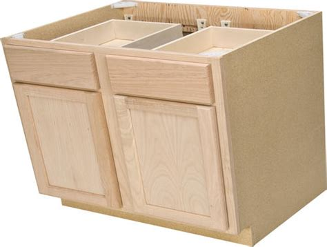 base cabinets for kitchen quality one 36 quot x 34 1 2 quot unfinished oak base 4325