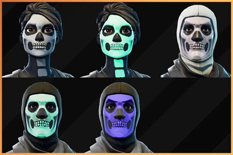 diebuddies  twitter customizable skull trooper styles