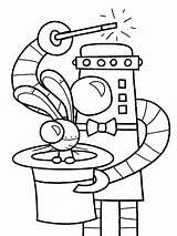 Coloring Pages Robot Office Drawing Robots Printable Halloween Building Steel Preschoolers October Drawings Involves Cardboard Finish Costume Need Getdrawings Getcolorings sketch template