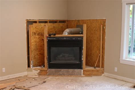 How To Use Fireplace - my outdated corner fireplace gets demolished one