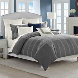 nautica haverdale gray comforter and duvet sets from beddingstyle com