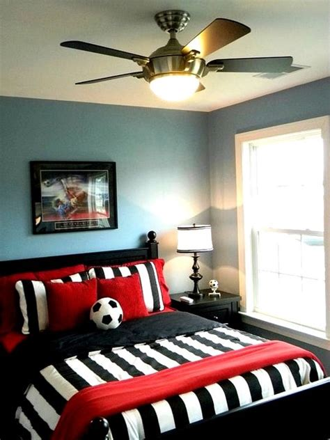 Red And Black Themed Living Room Ideas by Boy S Soccer Room Contemporary Kids Richmond By