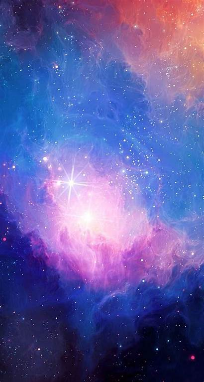 Galaxy Space Colors Pretty Iphone Wallpapers Rainbow
