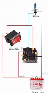 Wiring Diagram Lampu Kepala Tanpa Relay Images 638