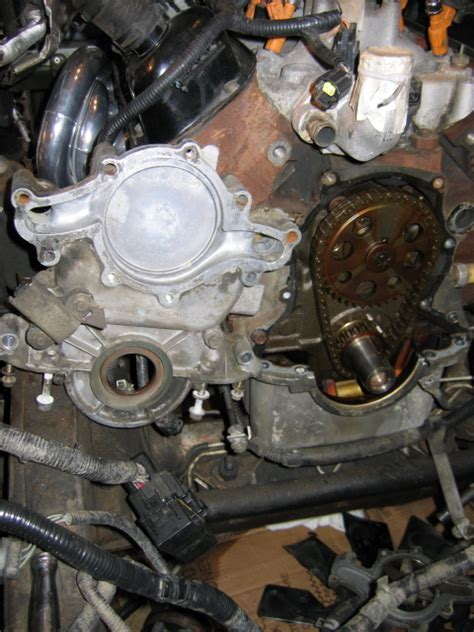 Ford 4 0 Sohc Engine Bottom Diagram by Timing Chain Front Cover Removal Problem Ford Explorer