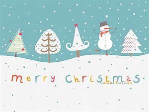 Cute Cartoon Christmas Wallpaper - WallpaperSafari