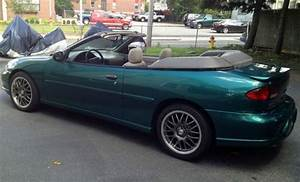 Sell Used 1998 Chevrolet Cavalier Z24 Convertible 2
