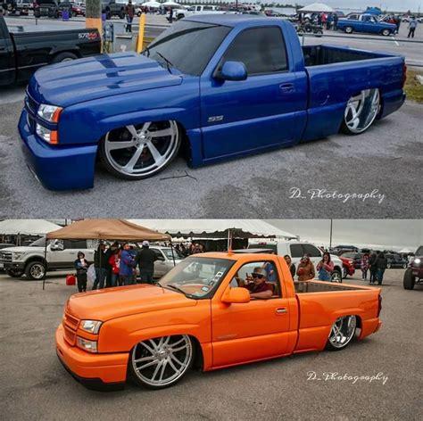 @debora_a_rubio16 #dumpt #dumpttruckin #trokiando #trokiandocuh #droppedtrucks #truckinalv #truckinlifestyle #truckinlifestyleaz… Azul o naranja? - Trocas Bajadas Y Alteradas | Facebook