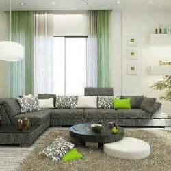 sala gris verde salas pinterest