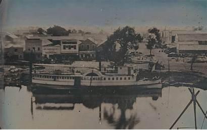 Stockton Steamer California 1850 Daguerreotype Lapse Chubachus