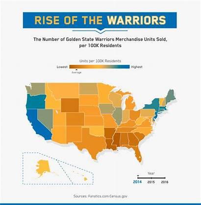 Warriors Golden State Map Location Bandwagon Rise