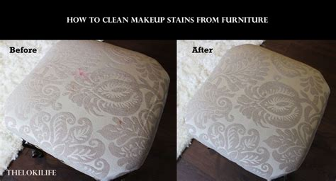 how to remove makeup lipstick stains from furniture