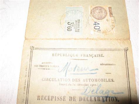 bureau carte grise troc echange delage carte grise originale d 39 époque sur