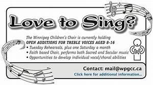 Winnipeg Children's Choir - Winnipeg Children's Choir