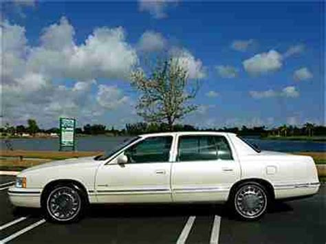 Buy Used 99 Cadillac Deville 2 Owners No Accident Pearl