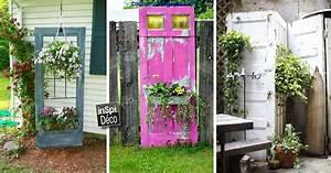 Decorer le jardin en recyclant des vieilles portes 20 for Deco cuisine pour salon de jardin