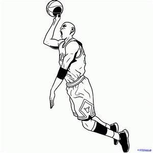 Step 19 How To Draw Michael Jordan