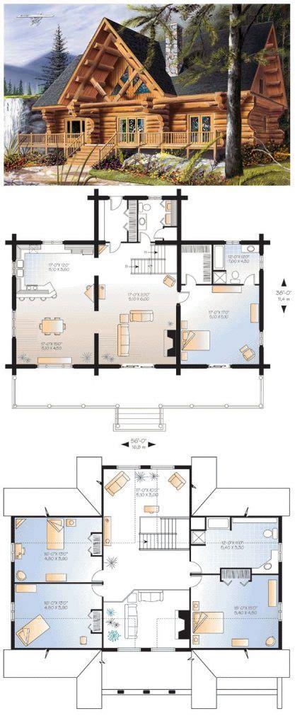 bedroom log home floor plans  home plans design