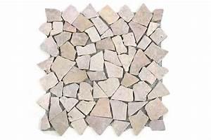 Mosaik Fliesen Kaufen : divero 1 matte 33x33cm marmor mosaik fliesen wand boden bruchstein beige rosa kaufen bei belan ~ Frokenaadalensverden.com Haus und Dekorationen
