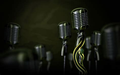 microphone wallpapers backgrounds