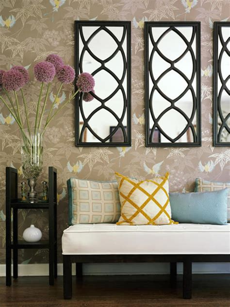 Accent Mirrors Entryway - 18 entryways with captivating mirrors