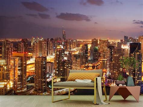 Фотообої Нічний Дубай купити на стіну • Еко Шпалери