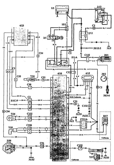 ignition system wiring diagram   volvo auto