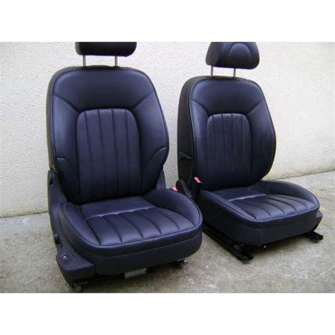 tablette siege auto sièges cuir chauffeur et passager avant peugeot 407