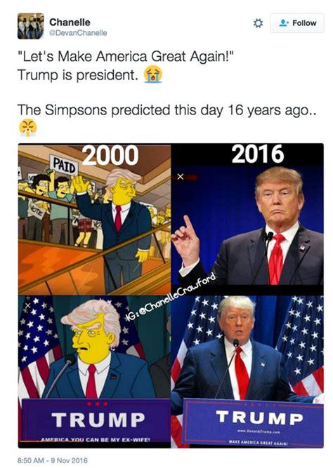 Simpsons Predicted Donald Trump