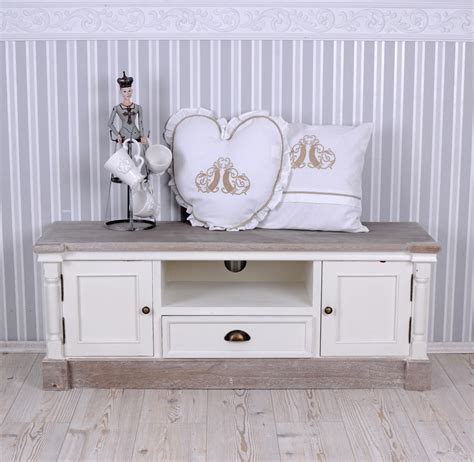 shabby chic tv tv cabinet tv wardrobe shabby chic tv table white sideboard ebay