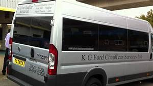 Fiat Ducato Minibus With A Medium Tint On All Rear Windows