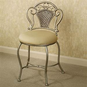 Vanity, Chair, With, Back, Design, Options, U2013, Homesfeed