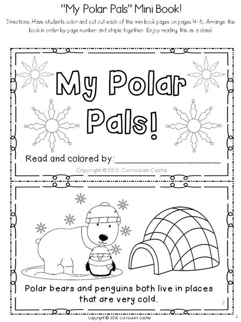 Polar Bears And Penguins A Polar Region Thematic Unit  Thematic Units, Book And Bears