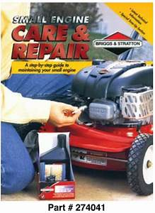 Ce8155 Small Engine Care  U0026 Repair Book