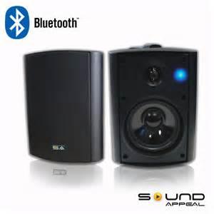 wireless outdoor indoor speakers bt blast 5 25 quot by sound