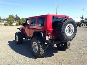 2008 Jeep Jkur With A 600hp Ls3   6l80 And A Atlas T Case