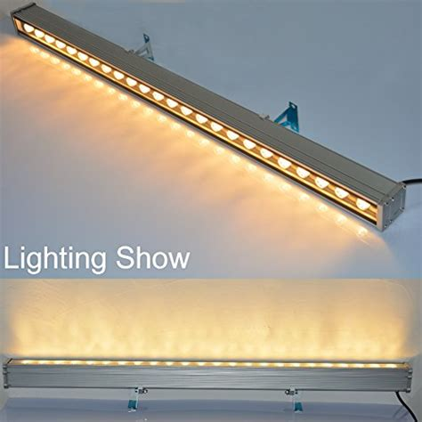 rsn led 24w linear bar light warm white outdoor wall