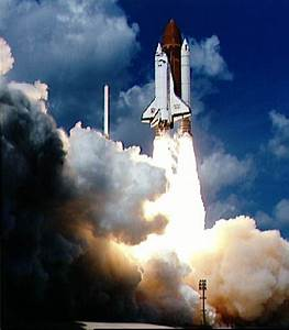 Space Images   Launch of Galileo on STS-34 Atlantis