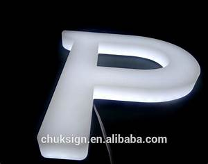 high brightness 3d illuminated front side lit white With 3d illuminated letters