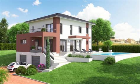 bureau en bois a vendre villa étage contemporaine avec sous sol et terrasse
