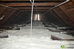 Ocieplenie stropu poddasza nieużytkowego styropianem